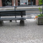 Aggregate Walkway with Bench & Planter Box 1