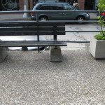 Aggregate Walkway with Bench & Planter Box 2