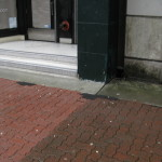 Brick:Paver Sidewalk at Storefront 1