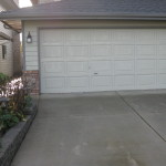 Concrete Driveway & Garage Door 2