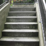Concrete Stairs to Underground Parking 1