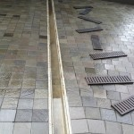 Drain & Pavers in Driveway 2