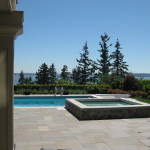 Stone Pool Deck & Patio Grounds