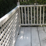 Wood Deck & Railings 2 With Foaming Soap & Algaecide Pre-treatment