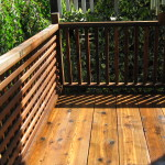 Wood Deck & Raillings 3